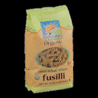 Bionaturae Organic Fusilli Whole Wheat
