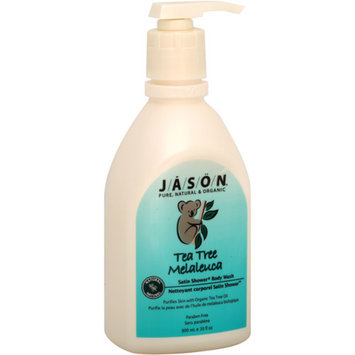 Jason Natural Cosmetics Satin Shower Body Wash Tea Tree Melaleuca