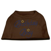 Ahi Birthday Boy Rhinestone Shirts Brown Med (12)