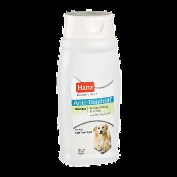 Hartz Groomers Best Light Fresh Scent Anti-Dandruff Shampoo for Dogs