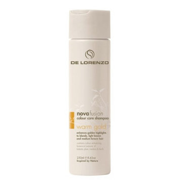 De Lorenzo Novafusion Color Care Shampoo, 8.45 oz - Warm Gold