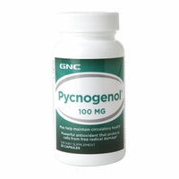 GNC Pycnogenol 100mg, Capsules, 30 ea