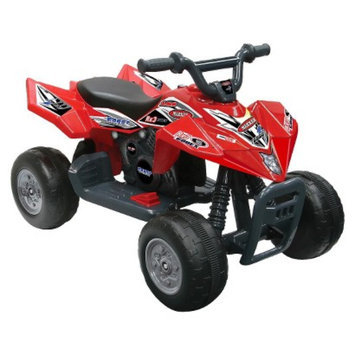 National Products LTD. Kid Motorz Quad Racer 6V Ride On - Red