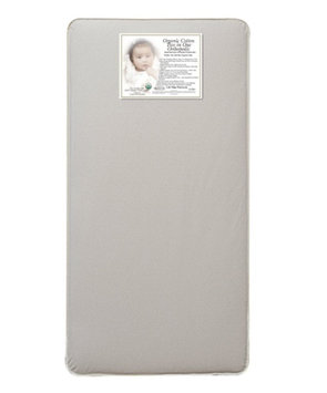 Baby Luxe L.A. Baby Babyluxe Organic Cotton 2 in1 Crib Mattress