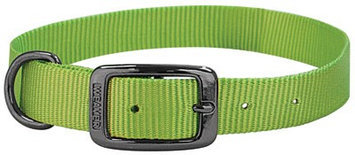 Weaver Graphite Nylon Collar 1 x 23 Lime Zest
