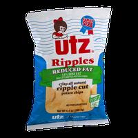 Utz Ripples Reduced Fat Ripple Cut Potato Chips