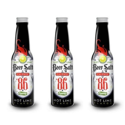 Twang Caliente 86 Hot Lime Beer Salt, 1oz Shaker (Pack of 3)