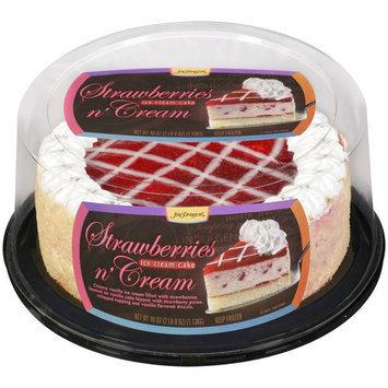 Jon Donaire Strawberries N Cream Ice Cream Cake, 40 oz