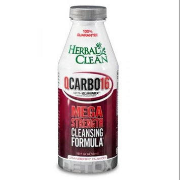 Q Carbo Liquid Cranberry Herbal Clean Detox 16 oz Liquid