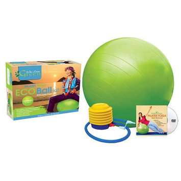 Wai Lana Pilates Yoga Eco Ball Kit with DVD