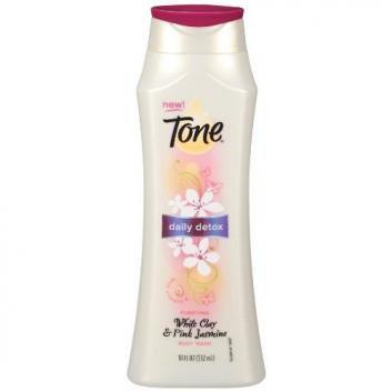 Tone Body Wash Daily Detox White Clay & Pink Jasmine