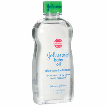 Johnson's Aloe Vera & Vitamin E Baby Oil