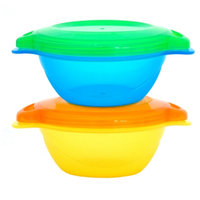 Munchkin Click Lock Toddler Bowls, 2 ea
