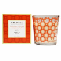 Caldrea Fragranced Candle, No 19 Mandarin Vetiver, 8.1 oz