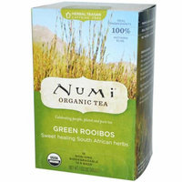 Numi Tea Numi Green Rooibos Sweet Healing South African Herbs 18 Tea Bags Case of 6
