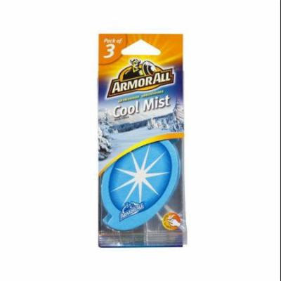Armor All Air Scent Card, Cool Mist, 3-Pack