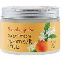 The Healing Garden Orange Blossom Epsom Salt Scrub, 16 oz