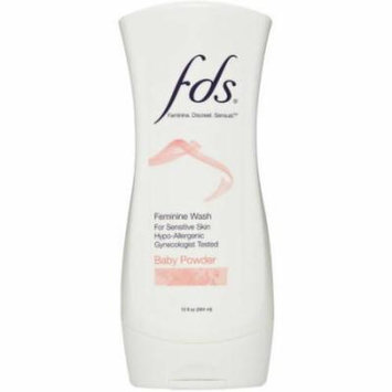 FDS Baby Powder Feminine Wash, 13 fl oz