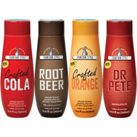 SodaStream Fountain Style Variety Sparkling Drink Mix, 440mL