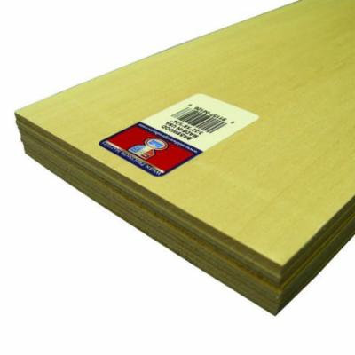 Midwest Basswood Sheets 3/32 in. 6 in. x 24 in.