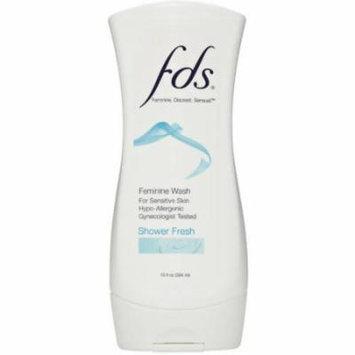FDS Shower Fresh Feminine Wash, 13 fl oz