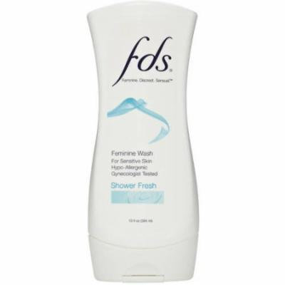 FDS Shower Fresh Feminine Wash, 13 fl oz