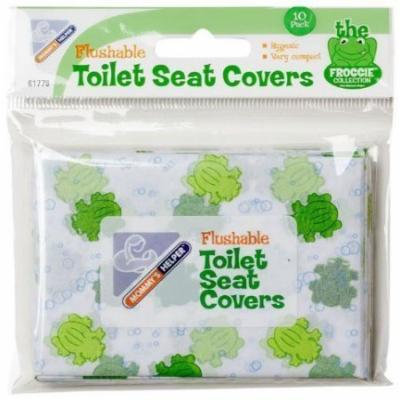 Mommys Helper Flushable Toilet Seat Cover, Froggie (2 Pack=20)
