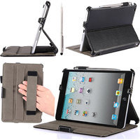i-Blason Book Shell Stand Case Cover Apple iPad mini with Bonus Stylus