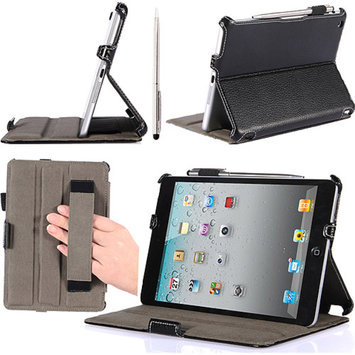 i-Blason Book Shell Stand Case Cover Apple iPad mini with Bonus Stylus