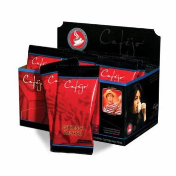 Cafejo CBS1093 Espresso Italiano Ground Coffee 18-Pack