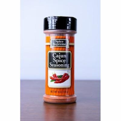 Club Pack of 12 Spice Supreme Cajun Spice Seasonings 6 oz. #30740