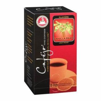 Cafejo CBS1036 Vanilla Bean Coffee Pods 72-Pack