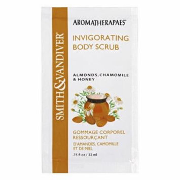 Aromatherapaes - Invigorating Body Scrub Almonds, Chamomile & Honey - 0.75 oz.