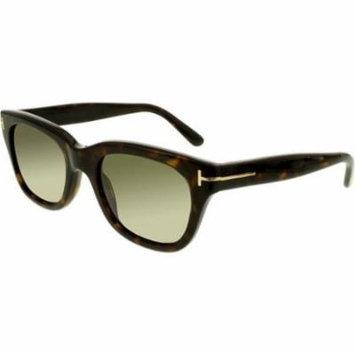 TOM FORD Sunglasses FT0237 52N Dark Havana 52MM
