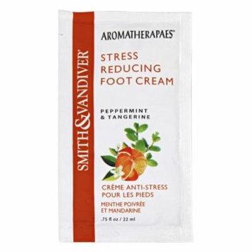 Aromatherapaes - Stress Reducing Foot Cream Peppermint & Tangerine - 0.75 oz.