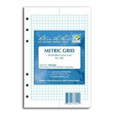 Rite in the Rain Loose Leaf Paper Metric #382