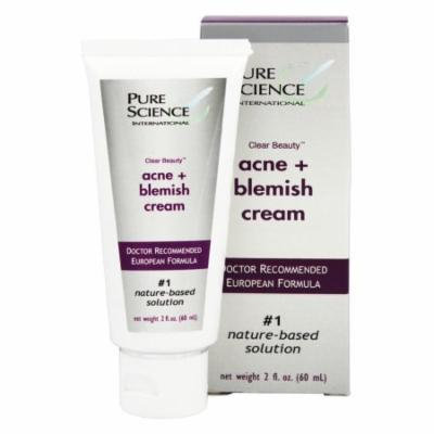 Pure Science International - Clear Beauty Acne & Blemish Cream - 2 oz.