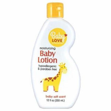 Personal Care 90345-6 12 oz. Silky Soft Baby Lotion, Pack of 12