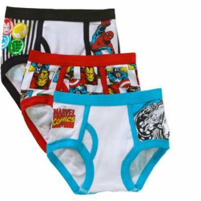 Marvel Comics Toddler Boys Underwear, 3-Pack