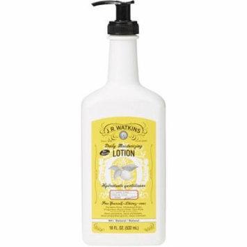 J.R. Watkins Lemon Cream Daily Moisturizing Lotion, 18 fl oz