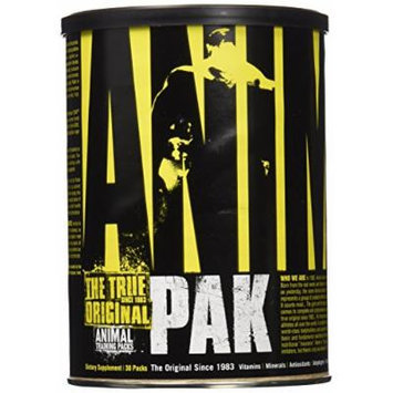 Universal Nutrition Animal Pak Sports Nutrition Multivitamin Supplement, 30 Count