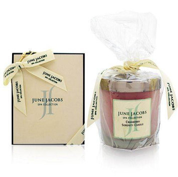 June Jacobs Spa Collection Serenity Candle Cranberry
