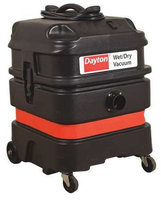 DAYTON 20X606 Wet/Dry Vacuum, 1.6 HP, 13 gal, 120V