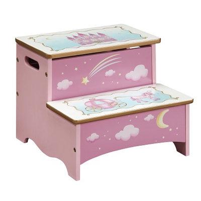 Guidecraft Princess Storage Step-Up, Princess, 1 ea