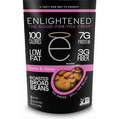 Enlightened(tm) Roasted Broad Beans - Garlic & Onion