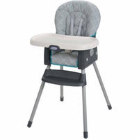 Graco SimpleSwitch 2-in-1 Highchair, Finch