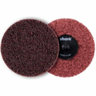 Shark Burgundy Heavy Duty Medium Surface Preparation Discs, 3