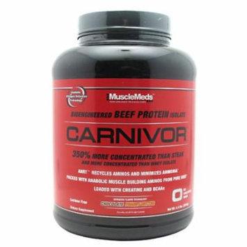 Muscle Meds Carnivor Chocolate Peanut Butter - 4.4 lbs