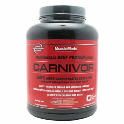 Muscle Meds Carnivor Chocolate Peanut Butter - 4.4 lbs