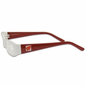 Wisconsin Badgers Reading Glasses +1.75 (F)